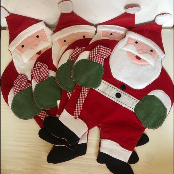 Nwt Pottery Barn Kids Santa Christmas Tree Ornament